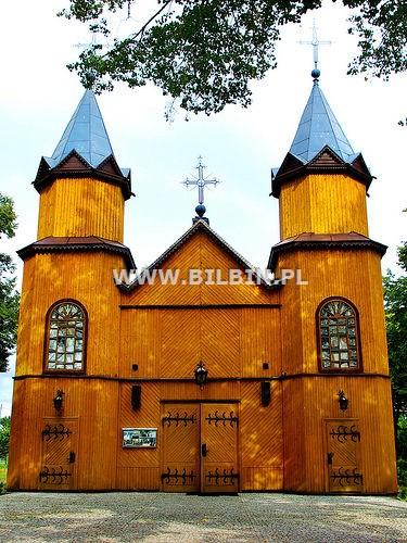 -zabytkowy kościół w Mikaszówce